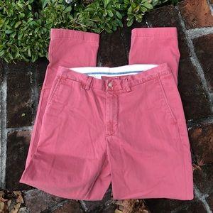 Polo men's classic fit flat front pants size 32/32